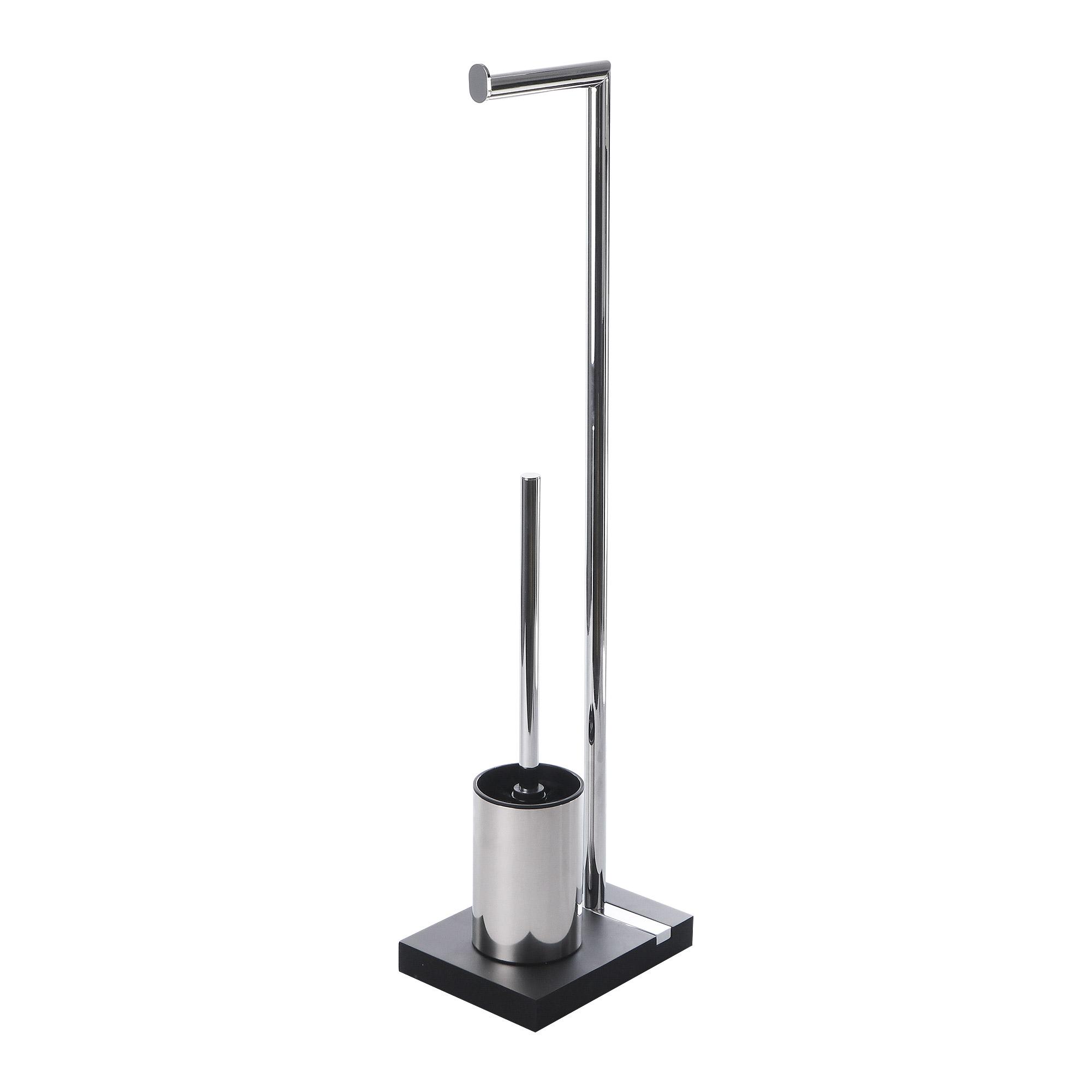 Гарнитур для туалета Wenko sanitary brush noble чёрный гарнитур для туалета wenko sanitary brush samona