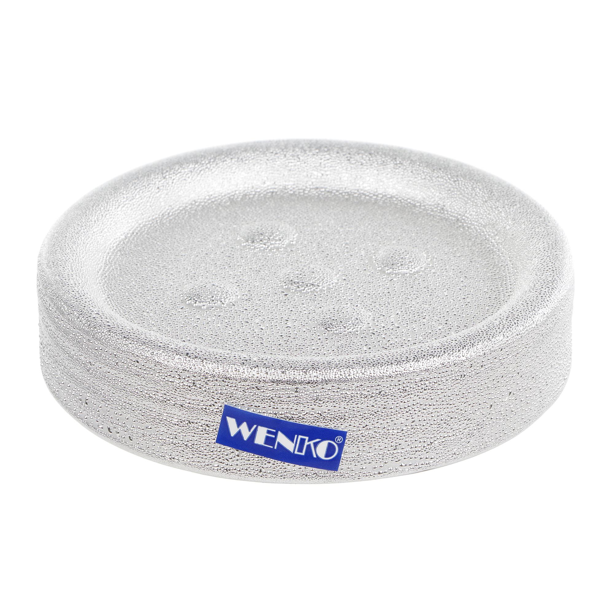 Мыльница Wenko sanitary polaris juwel серебро фото