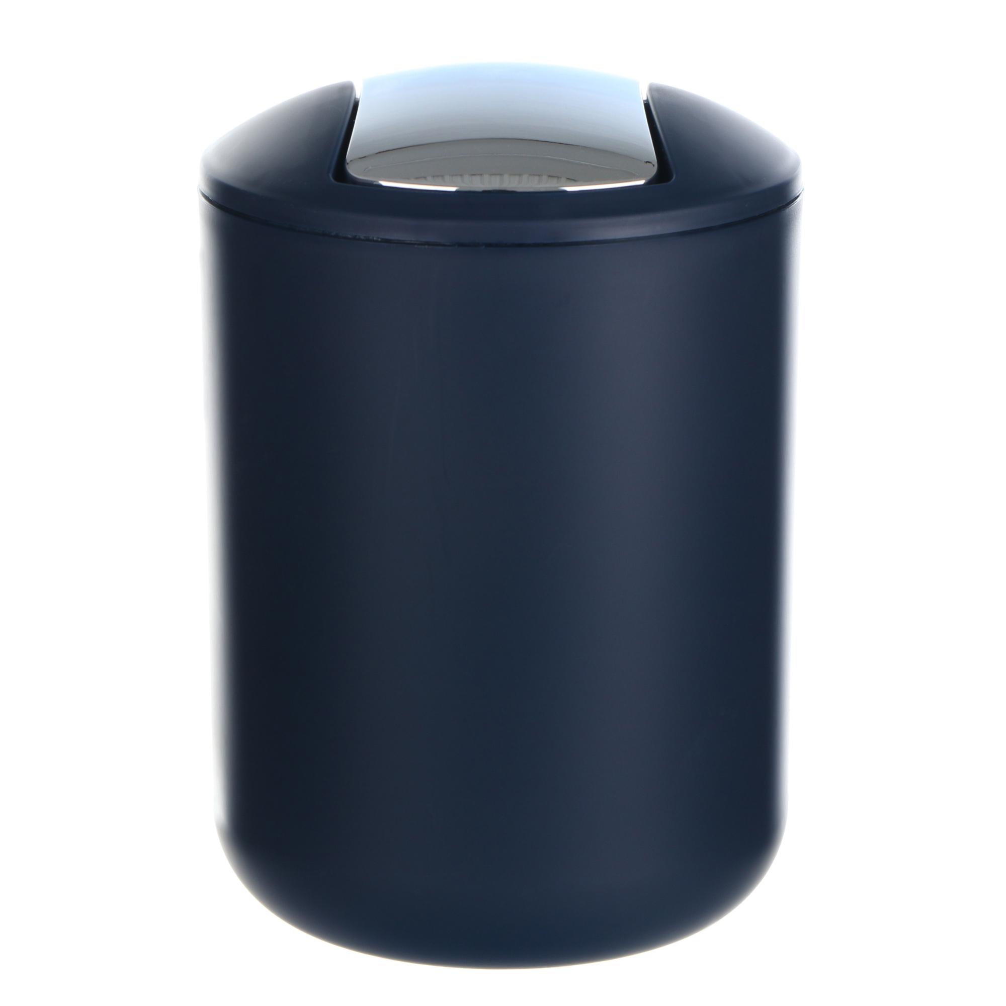 Ведро мусорное Wenko sanitary brasil s синее