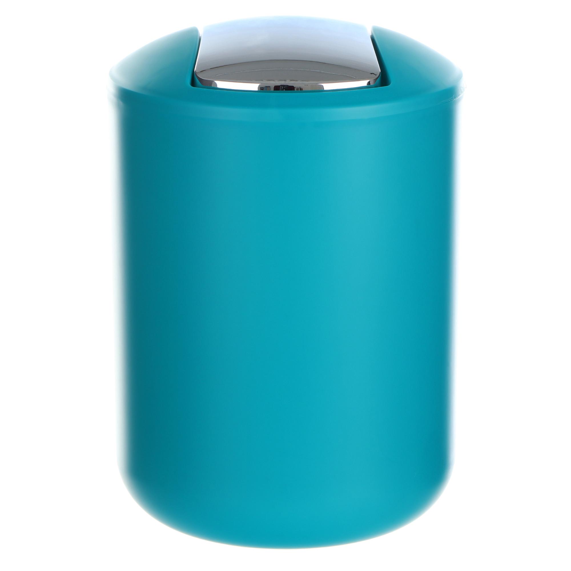 Ведро мусорное Wenko sanitary brasil s голубое