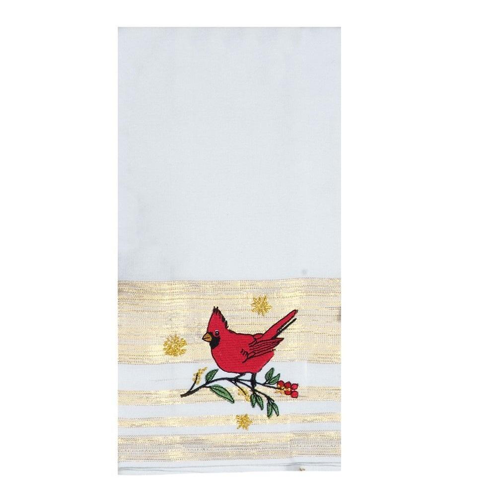 Полотенце кухонное Kay Dee Designs Красный кардинал 41х66см