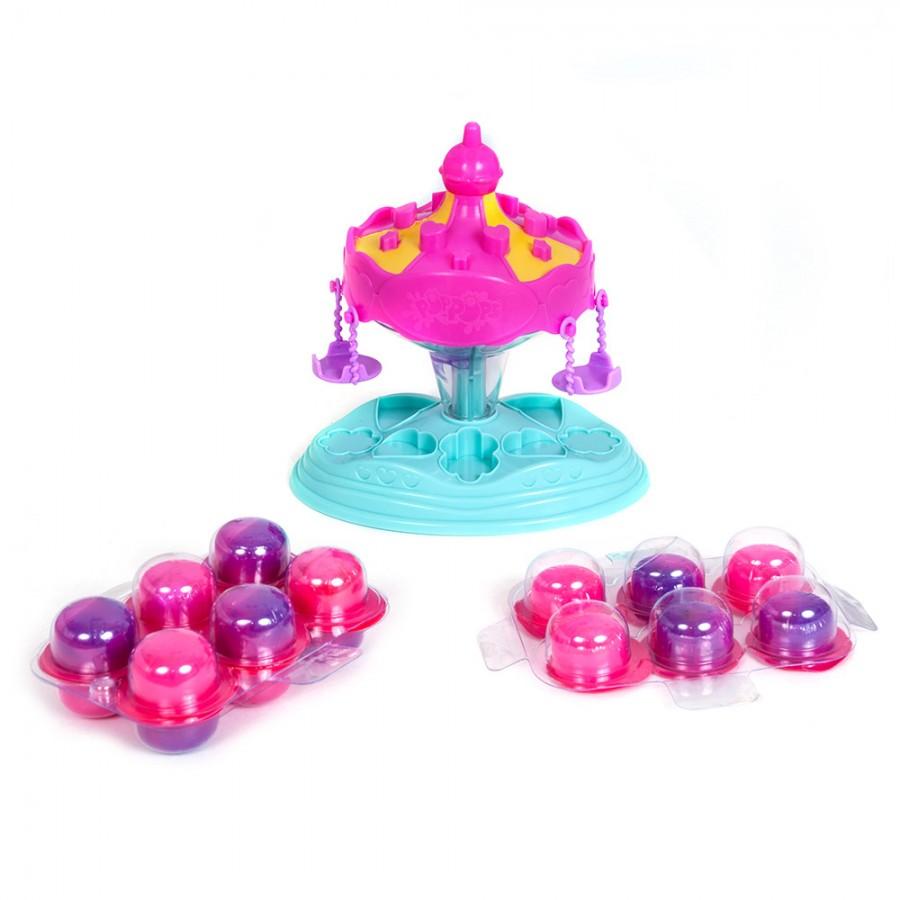 Игровой набор Poppops Pets Карусель YL40006 игровой набор карусель для создания украшений из бусинок lalaloopsy