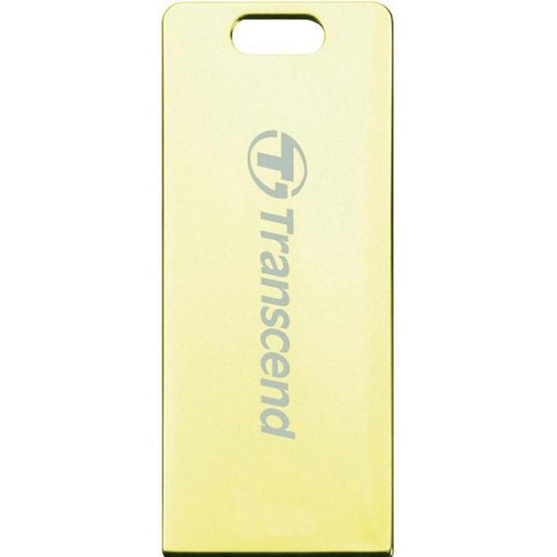 Фото - Флеш-накопитель Transcend JetFlash T3 32 GB gold флеш накопитель transcend 16 gb jetflash 350 ts 16 gjf 350 usb 2 0 чёрный