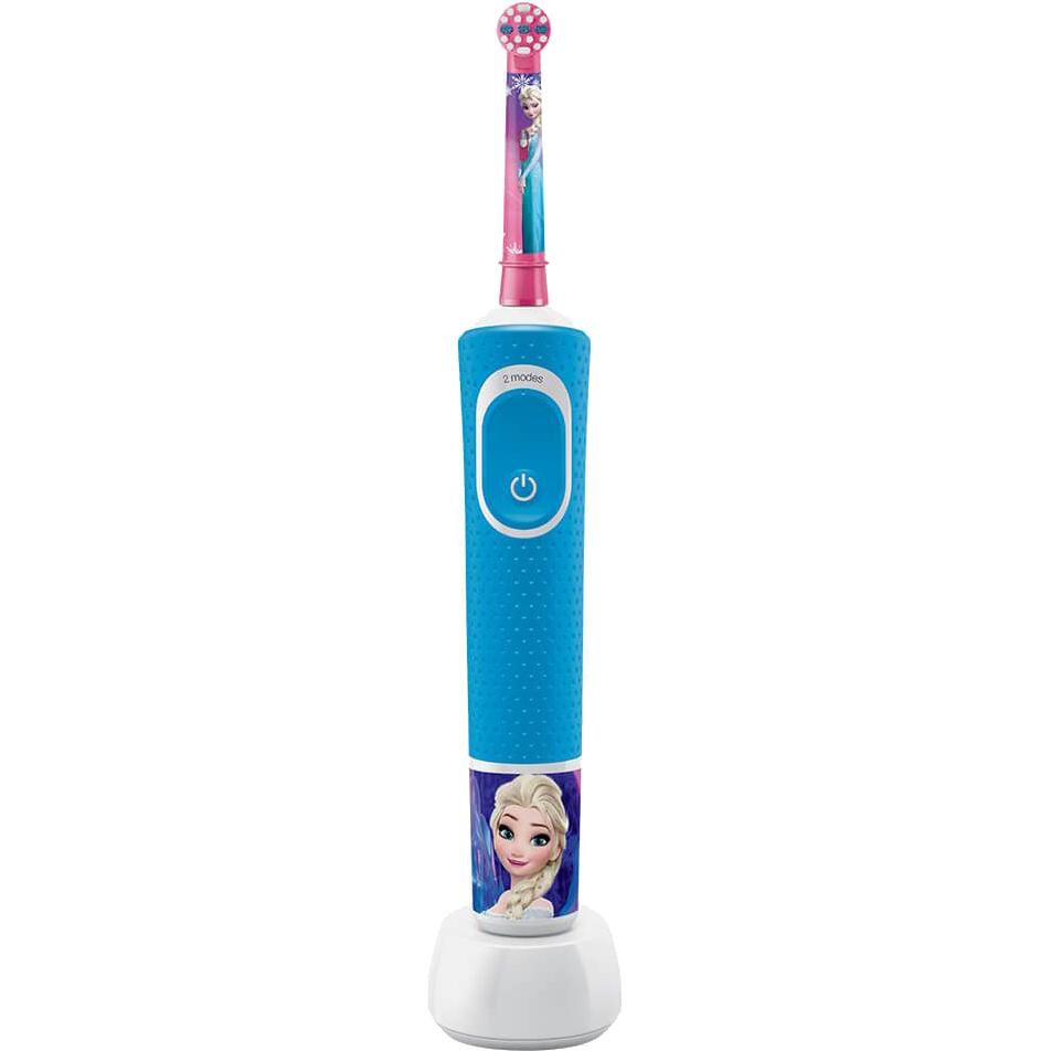 Купить Электрическая зубная щетка Braun Oral-B D100.413.2K Frozen, электрическая зубная щетка