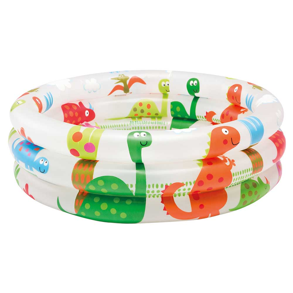 бассейн каркасный intex 305х76см 28200 Бассейн надувной Intex для малышей 3 кольца 61х22 см