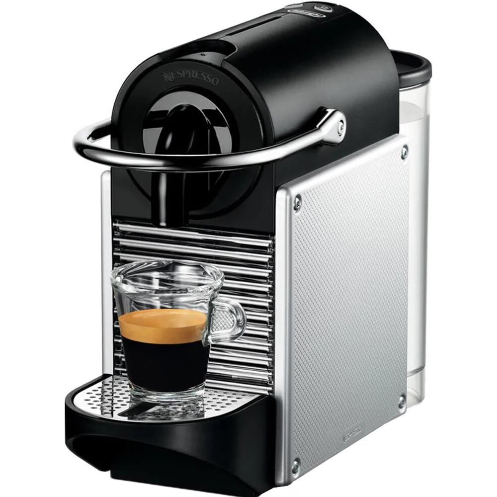 Кофемашина DeLonghi Nespresso EN 124.S Pixie кофемашина капсульная delonghi nespresso pixie en124 r красный