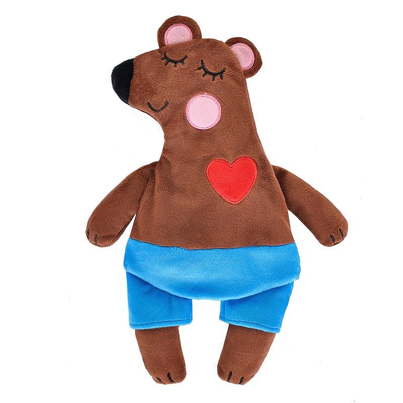 Игрушка-грелка Maxitoys Медведь 30 см
