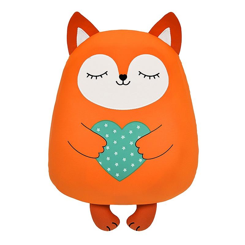 maxitoys мягкая игрушка maxitoys luxury slim лисичка с цветочком 33 см Игрушка-сплюшка Maxitoys Лисичка 30 см