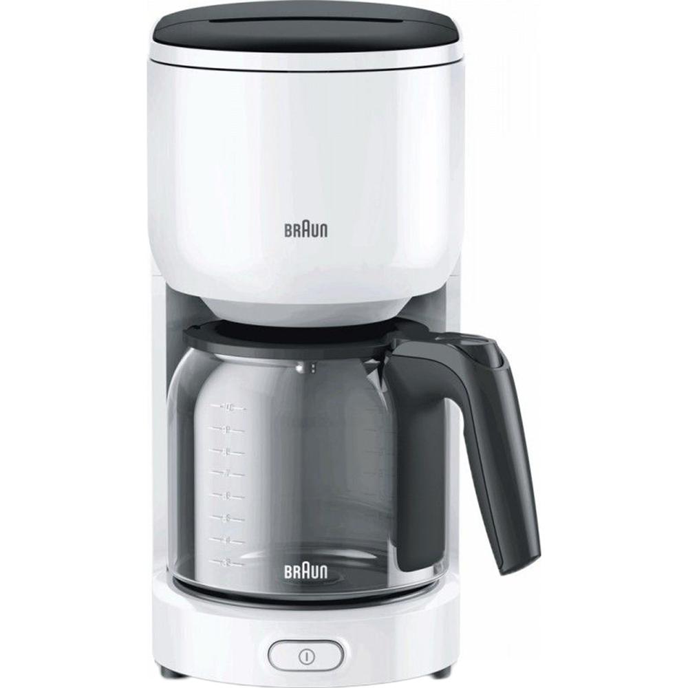 Кофеварка Braun KF 3100 WH кофеварка braun kf 3100 wh