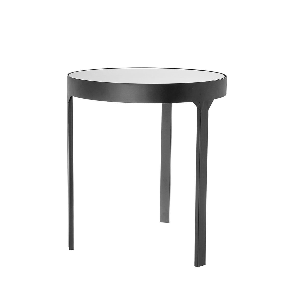 Столик приставной Riverdale amaro черный 44х44х50см фото