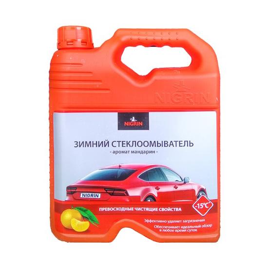 Стеклоомывающая Зимняя жидкость -15 Мандарин 4 литра