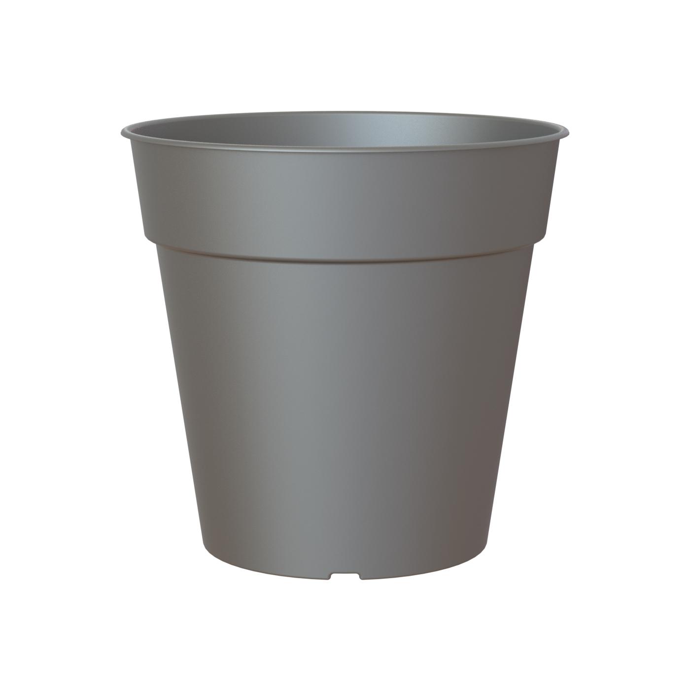 Кашпо Artevasi madagascar 7,5 см антрацит