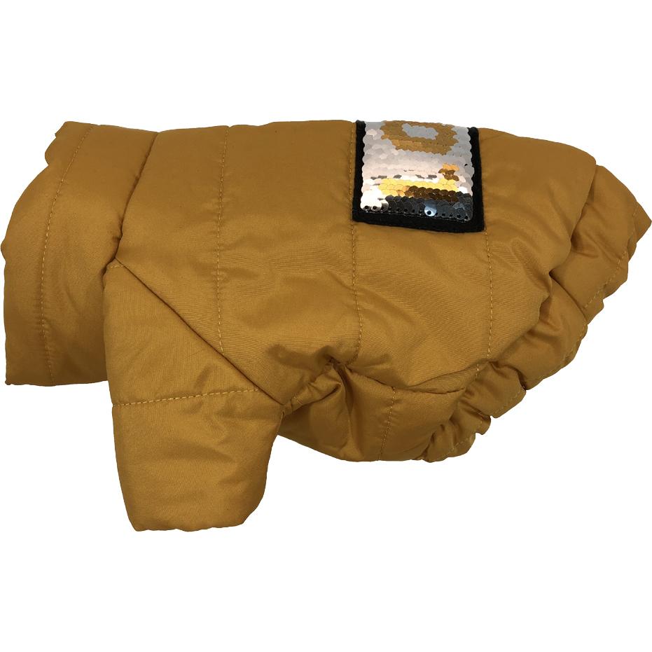 Куртка для собак ДОГ МАСТЕР стеганая с декором S 24 см в ассортименте.