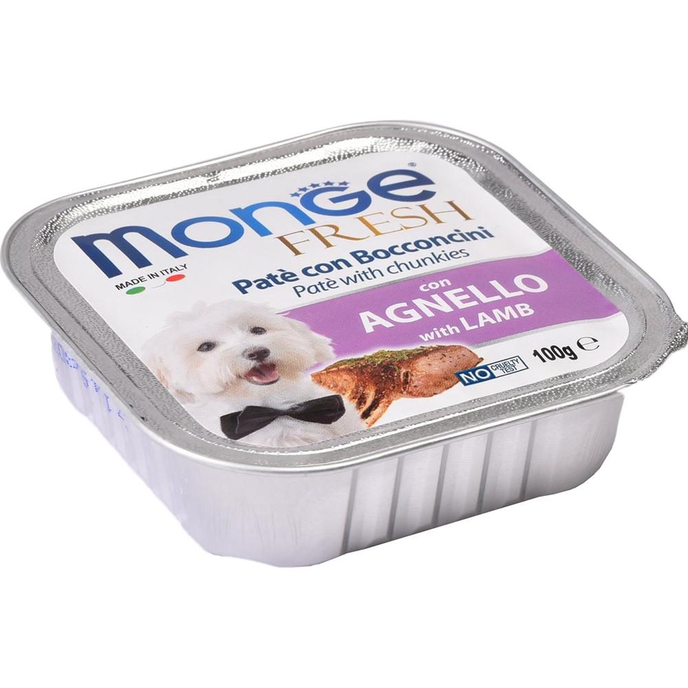 Корм для собак Monge Fresh С ягненком 100 г