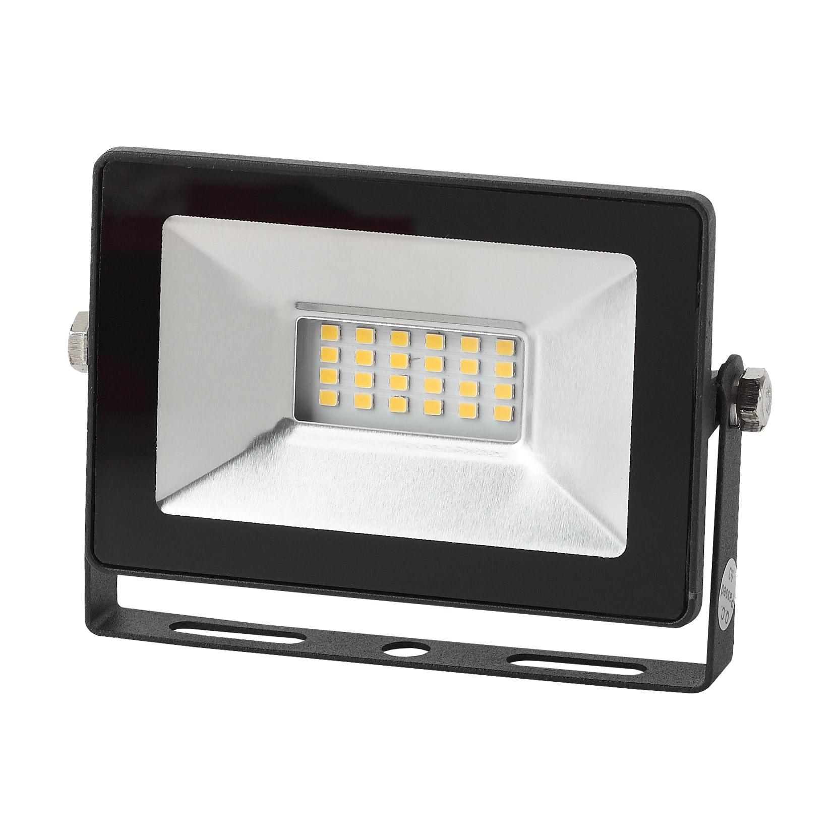 Фото - Прожектор ЭРА LPR-20-6500К SMD Eco Slim 20Вт 1800Лм 6500K 126х87 светодиодный прожектор эра lpr 30 6500k m smd б0017301