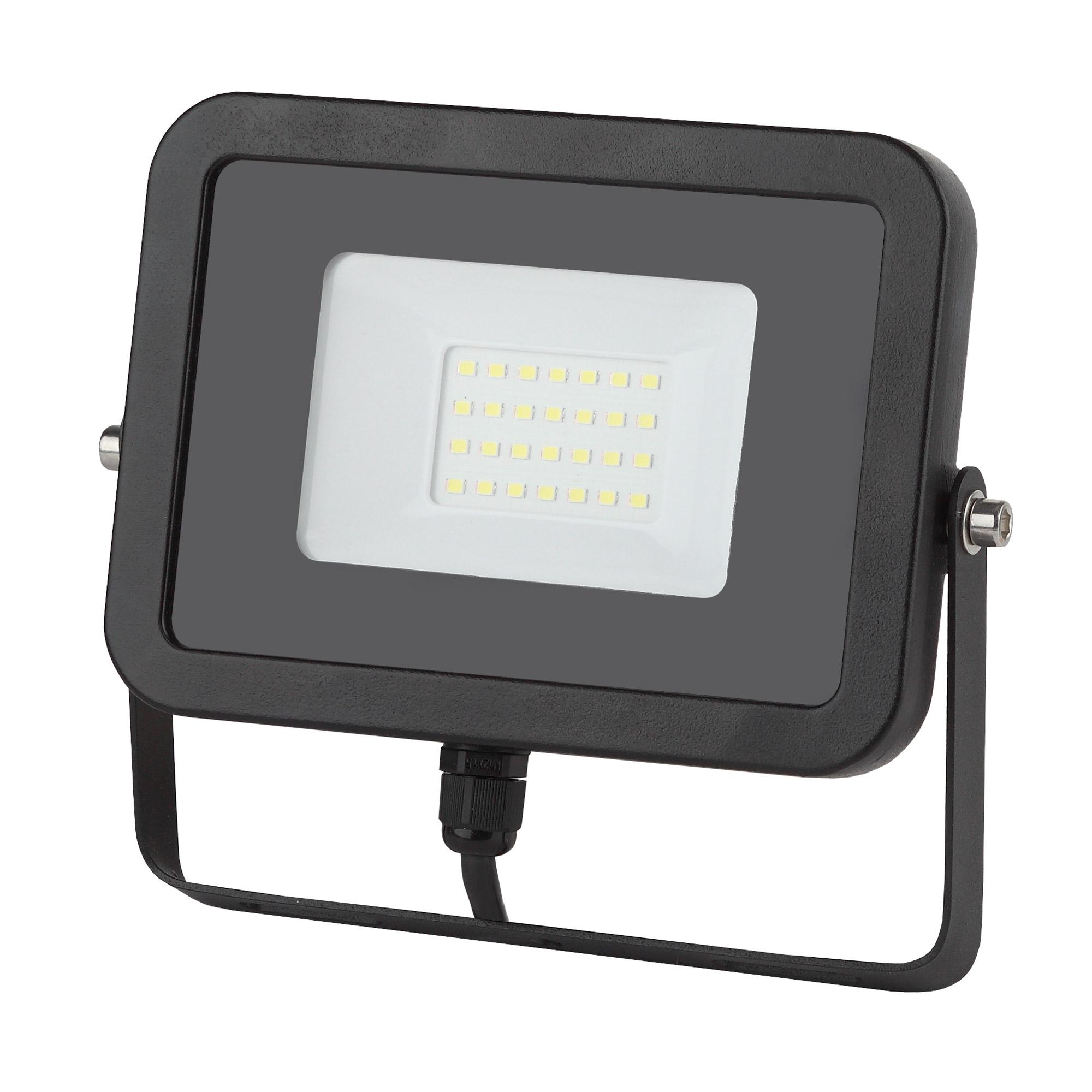 Фото - Прожектор ЭРА LPR-30-4000К SMD Eco Slim 30Вт 2700Лм 4000K 150х110 светодиодный прожектор эра lpr 30 6500k m smd б0017301