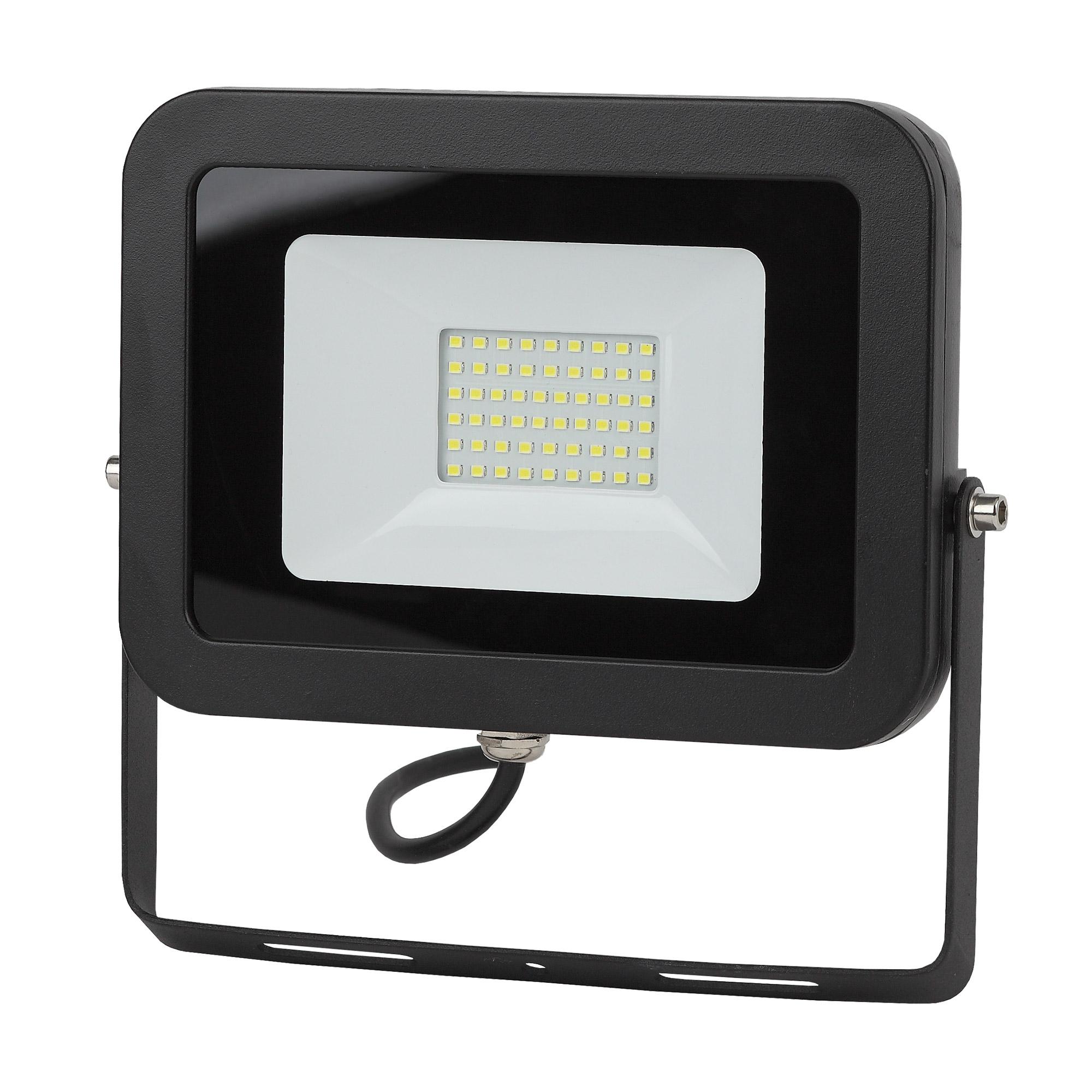Фото - Прожектор ЭРА LPR-70-6500К-М-SMD Eco Slim 70Вт 6300Лм 6500K 240х272 светодиодный прожектор эра lpr 30 6500k m smd б0017301
