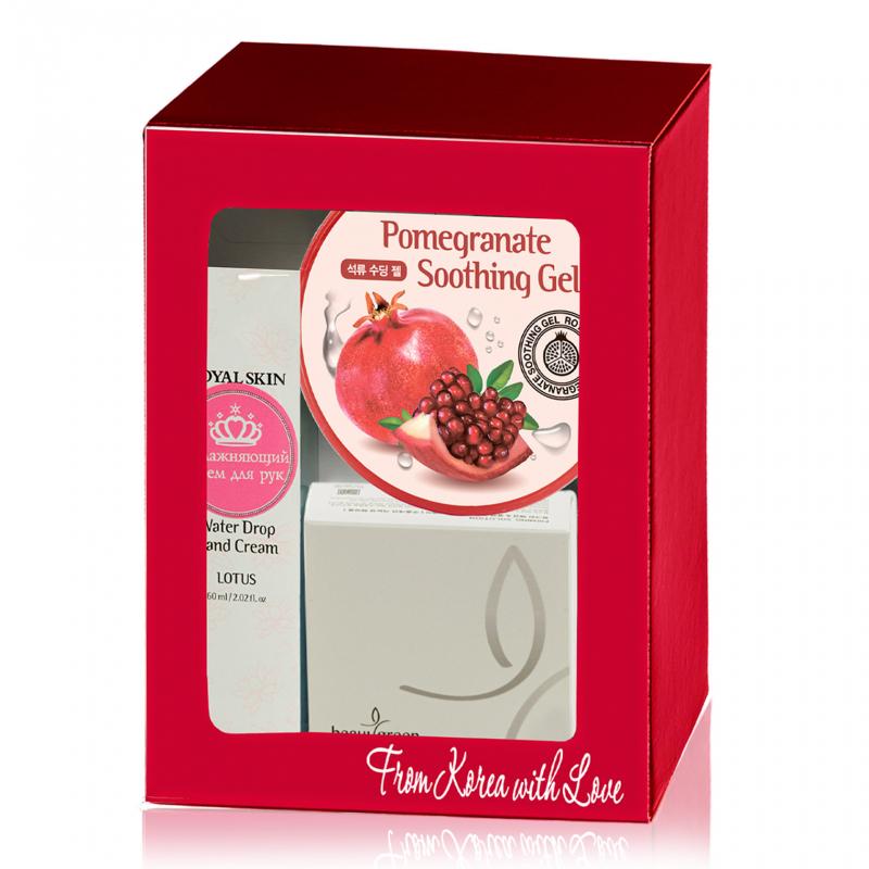 Набор BeauuGreen Beauty Box Royal Skin Gold 3 шт