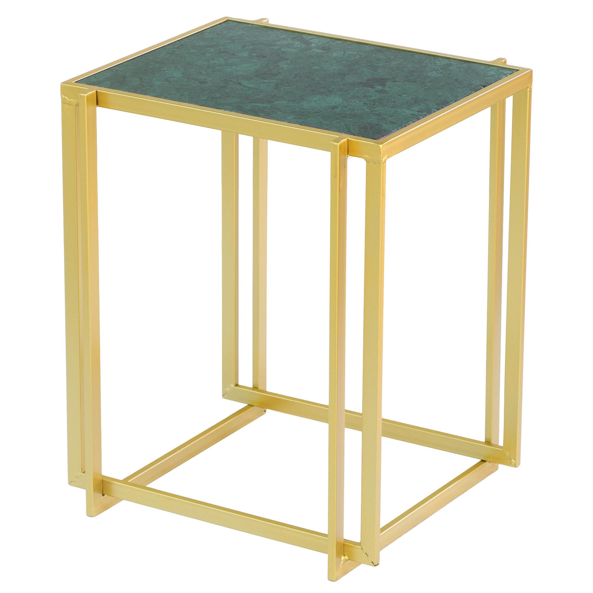 Столик приставной Glasar 41х37х50 см фото