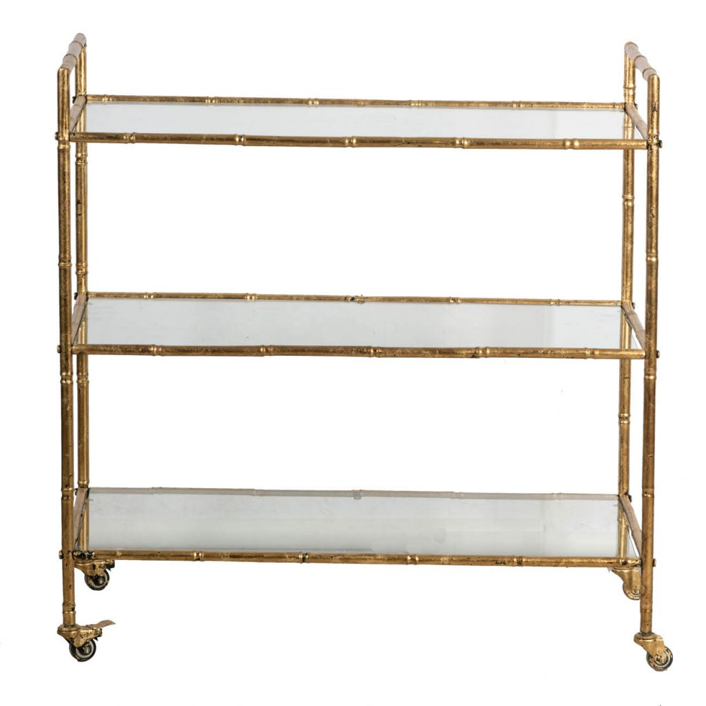 Купить Столик сервировочный Glasar 91x46x93см, стол