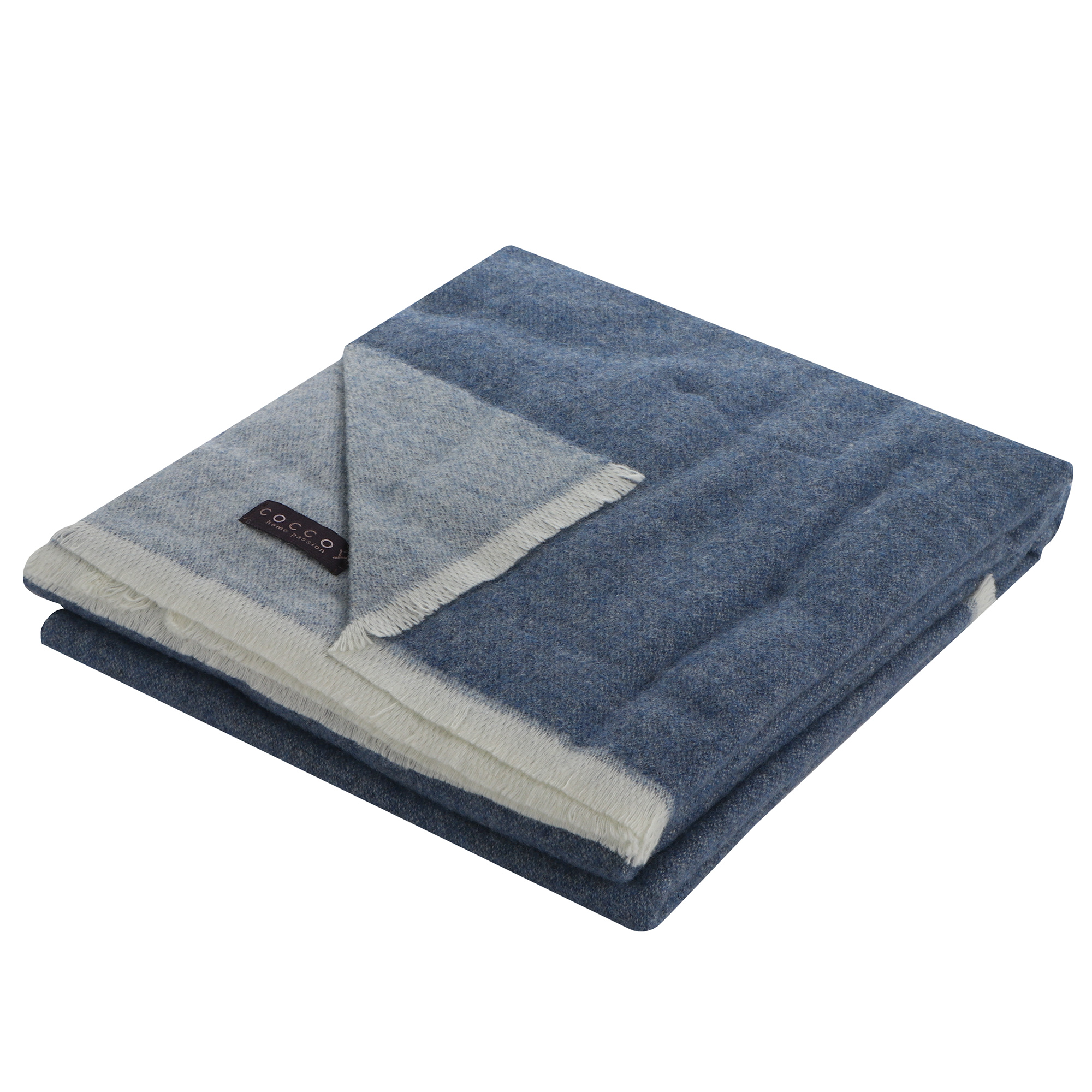Плед Areain / fashion bed woolly 130x180 синий
