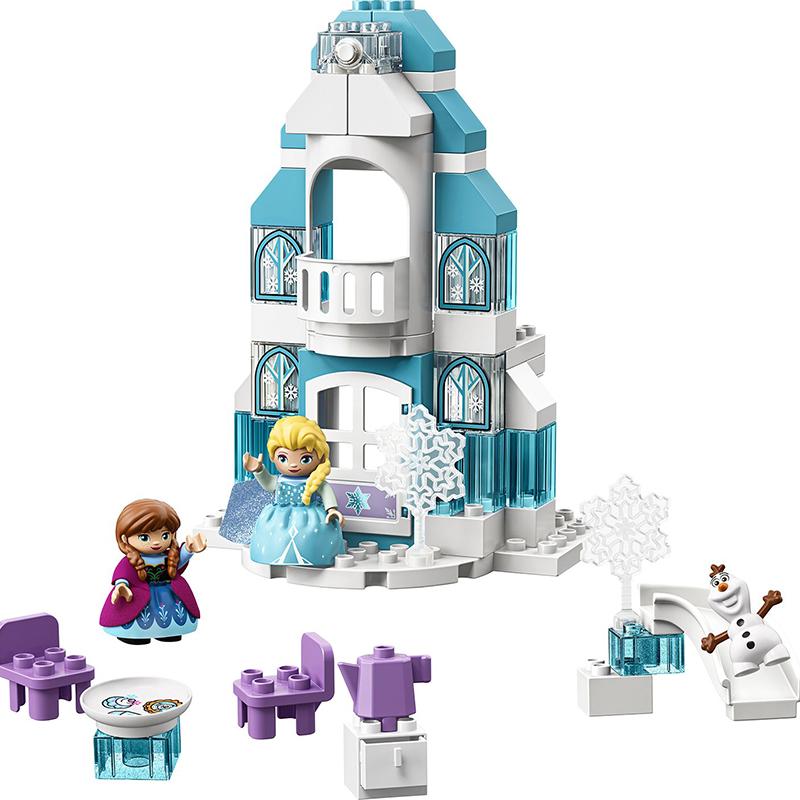 Купить Конструктор Lego Duplo Ледяной замок, пластик, для девочек, Конструкторы, пазлы