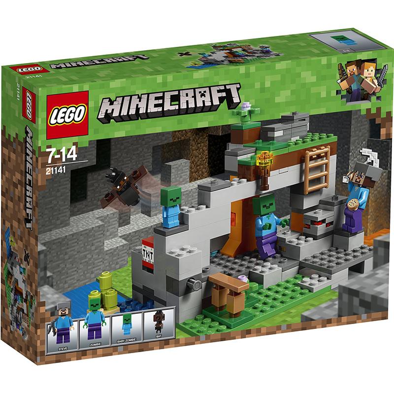 Купить Конструктор Lego Minecraft Пещера зомби, пластик, для мальчиков, Конструкторы, пазлы