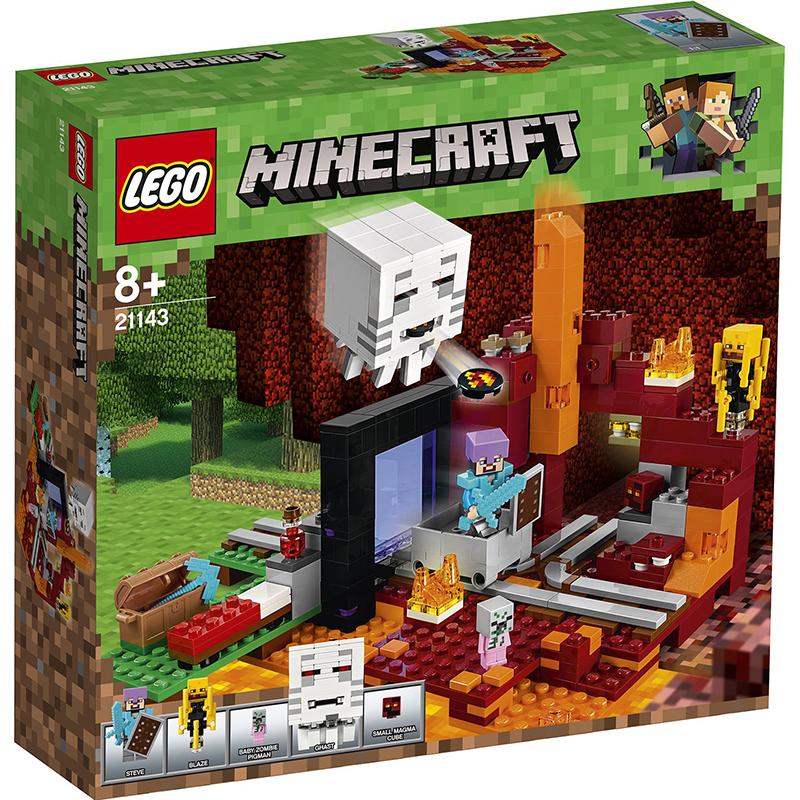Купить Конструктор Lego Minecraft Портал в подземелье, пластик, универсальный, Конструкторы, пазлы