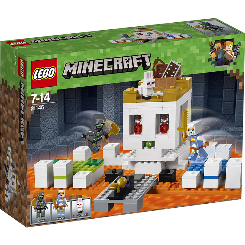 Купить Конструктор Lego Minecraft Арена-череп, пластик, для мальчиков, Конструкторы, пазлы