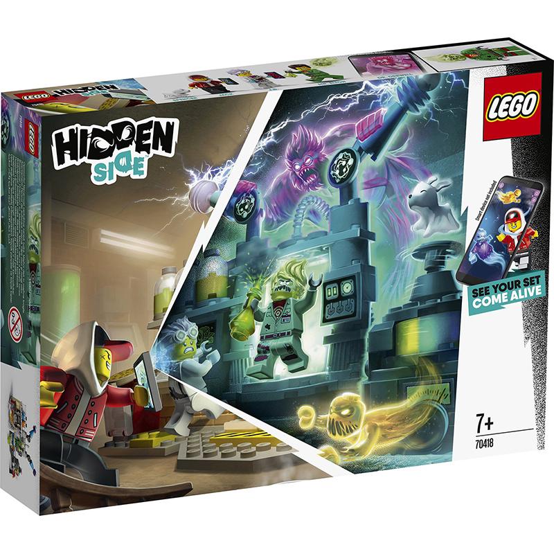 Купить Конструктор Lego Hidden Side Лаборатория призраков, пластик, для мальчиков, Конструкторы, пазлы
