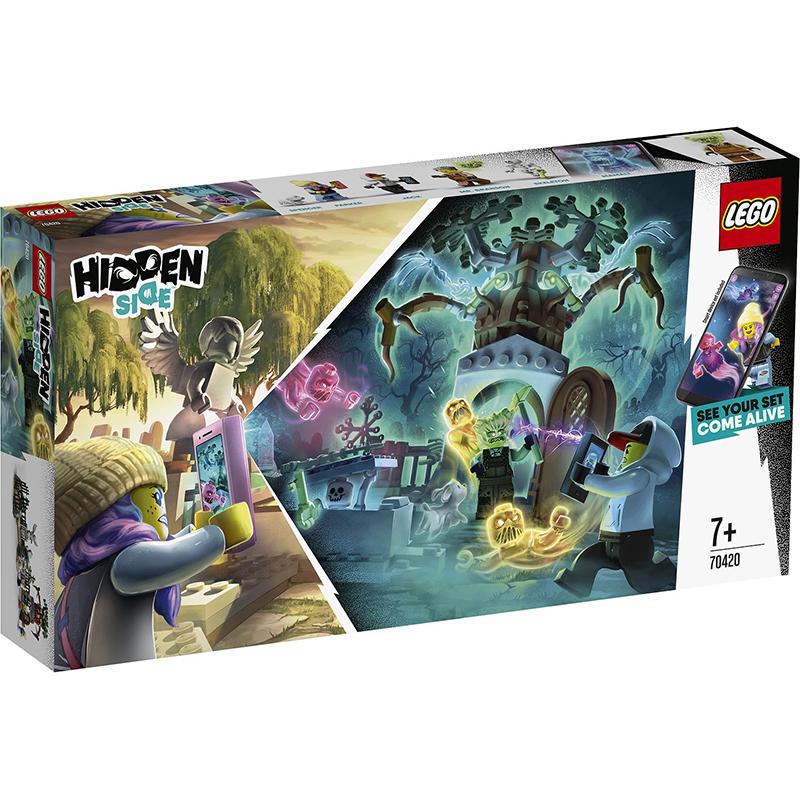 Купить Конструктор Lego Hidden Side Загадка старого кладбища, пластик, для мальчиков, Конструкторы, пазлы