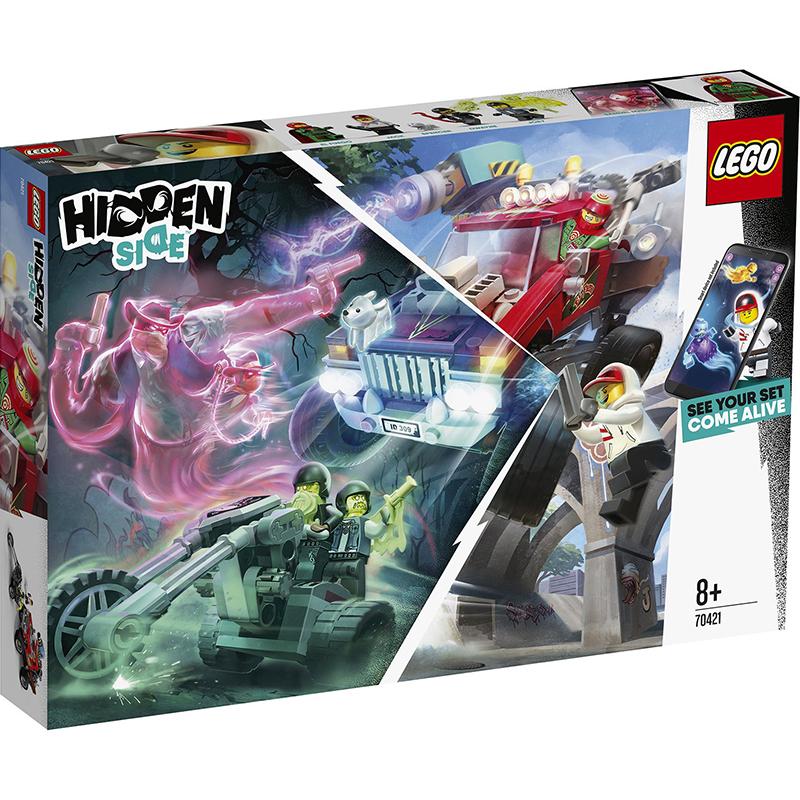 Купить Конструктор Lego Hidden Side Трюковый грузовик, пластик, для мальчиков, Конструкторы, пазлы