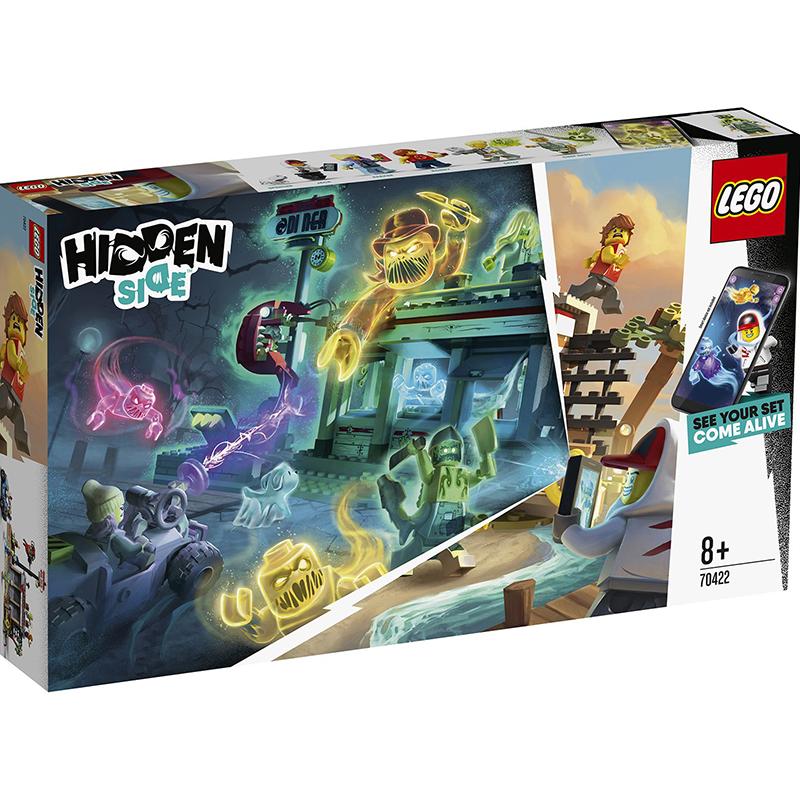 Купить Конструктор Lego Hidden Side Нападение на закусочную, пластик, для мальчиков, Конструкторы, пазлы