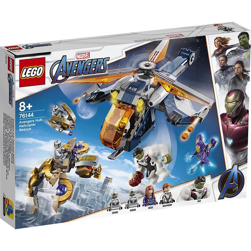 Купить Конструктор Lego Super Heroes Мстители Спасение Халка на вертолете, пластик, для мальчиков, Конструкторы, пазлы