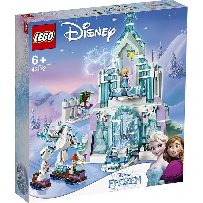 Купить Конструктор Lego Disney Frozen Волшебный ледяной замок Эльзы, пластик, для девочек, Конструкторы, пазлы