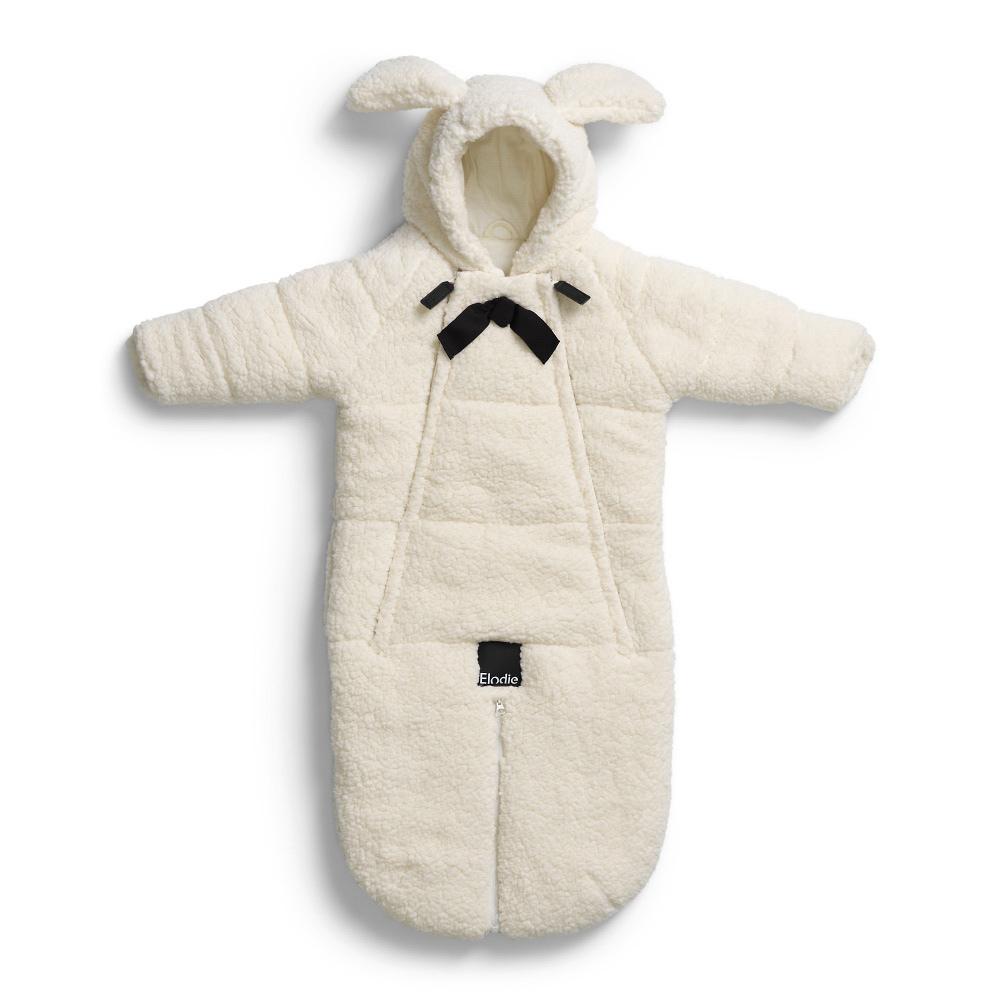 Конверт Elodie Shearling (белый) 6-12 месяцев elodie details плед vanilla white elodie details вафельный узор