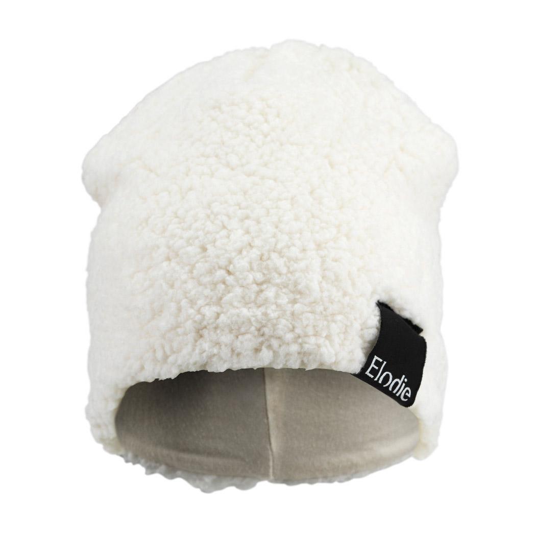 Купить Шапочка Elodie Shearling 1-2 года, Elodie Details, Белый, 46% модал, 46% хлопок, 8% спандекс, Для детей, Осень-Зима,