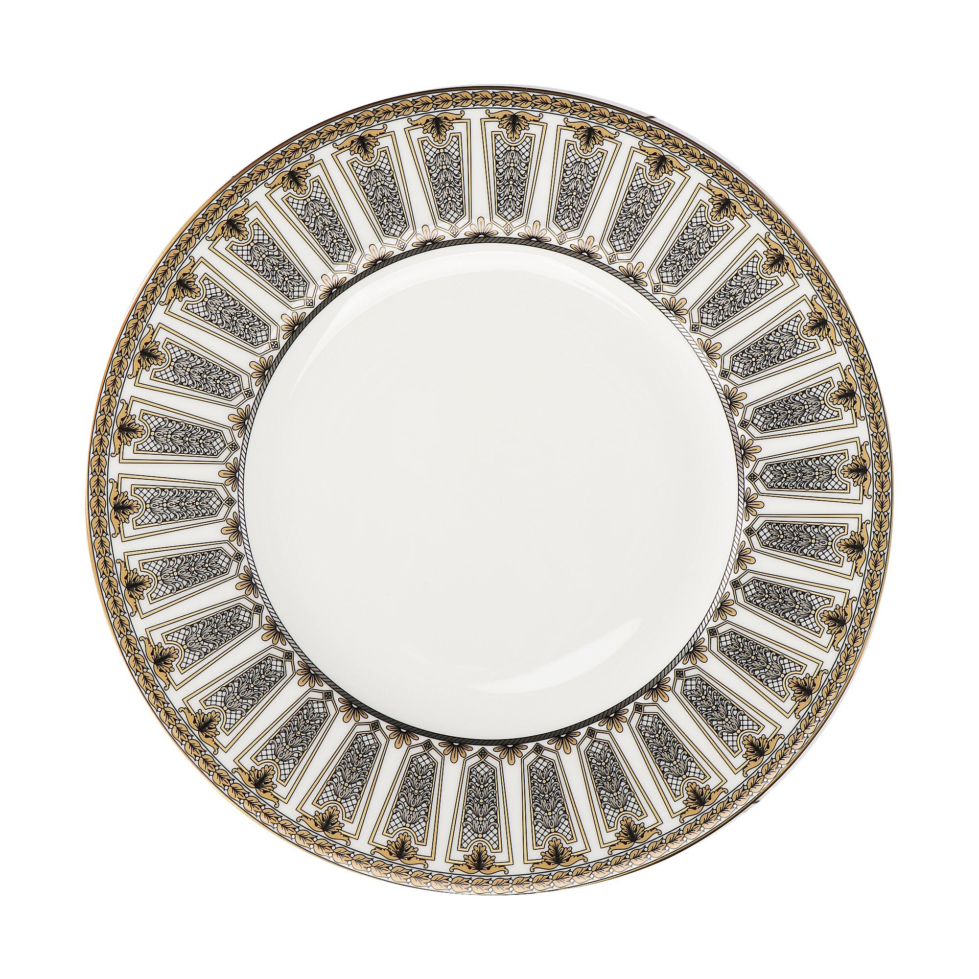 Фото - Набор тарелок Hankook/Prouna Треллис 22 см 6 шт набор суповых тарелок hankook prouna эпл би 23 см 6 шт