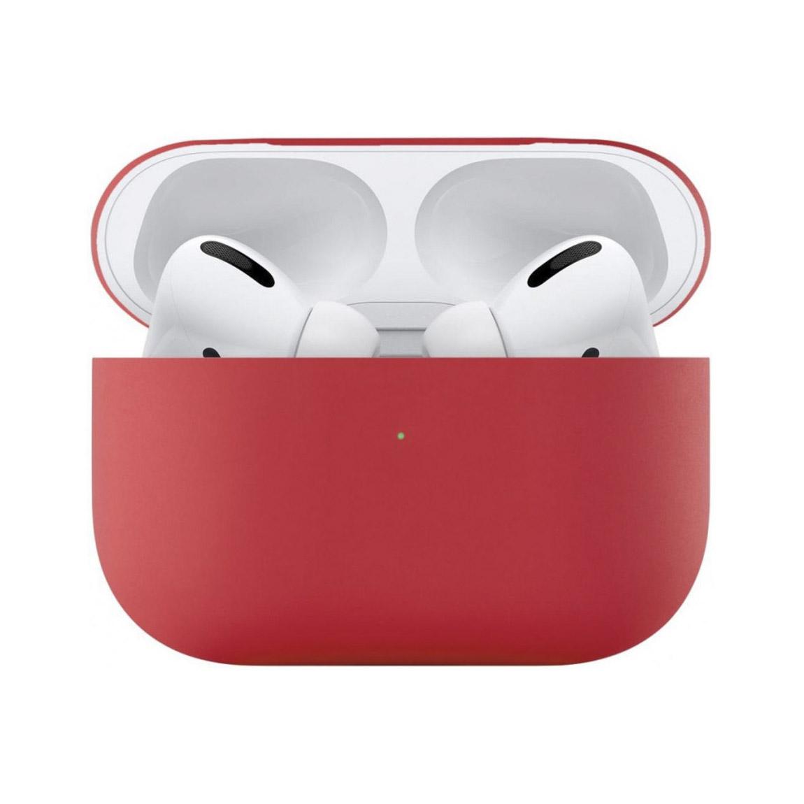 Чехол uBear для наушников Apple AirPods Pro, красный фото