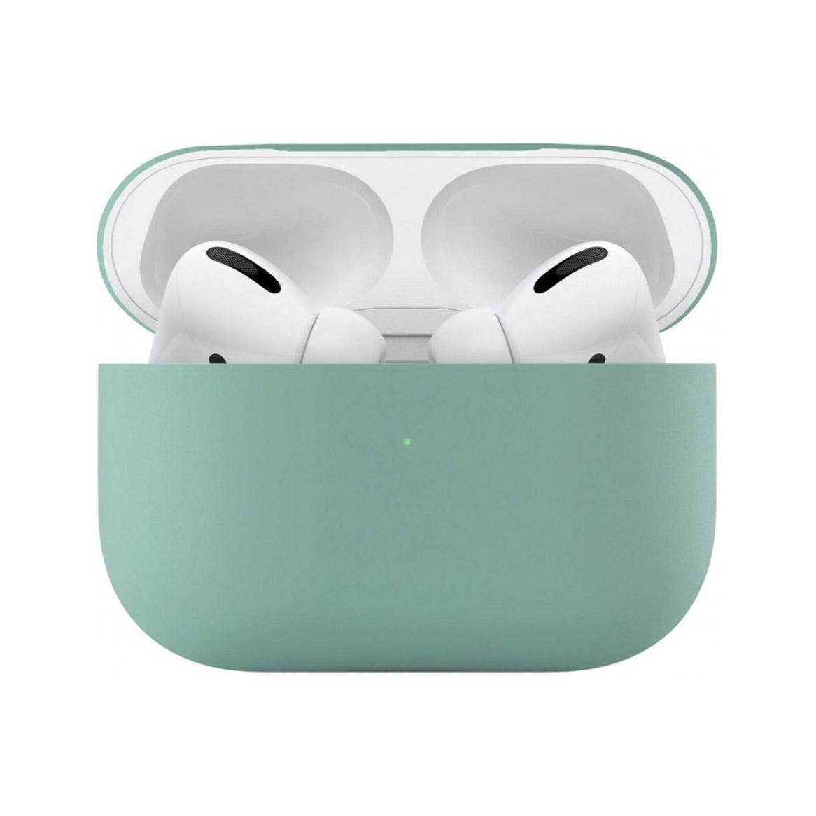Чехол uBear для наушников Apple AirPods Pro, мятный чехол для наушников steward для apple airpods blue