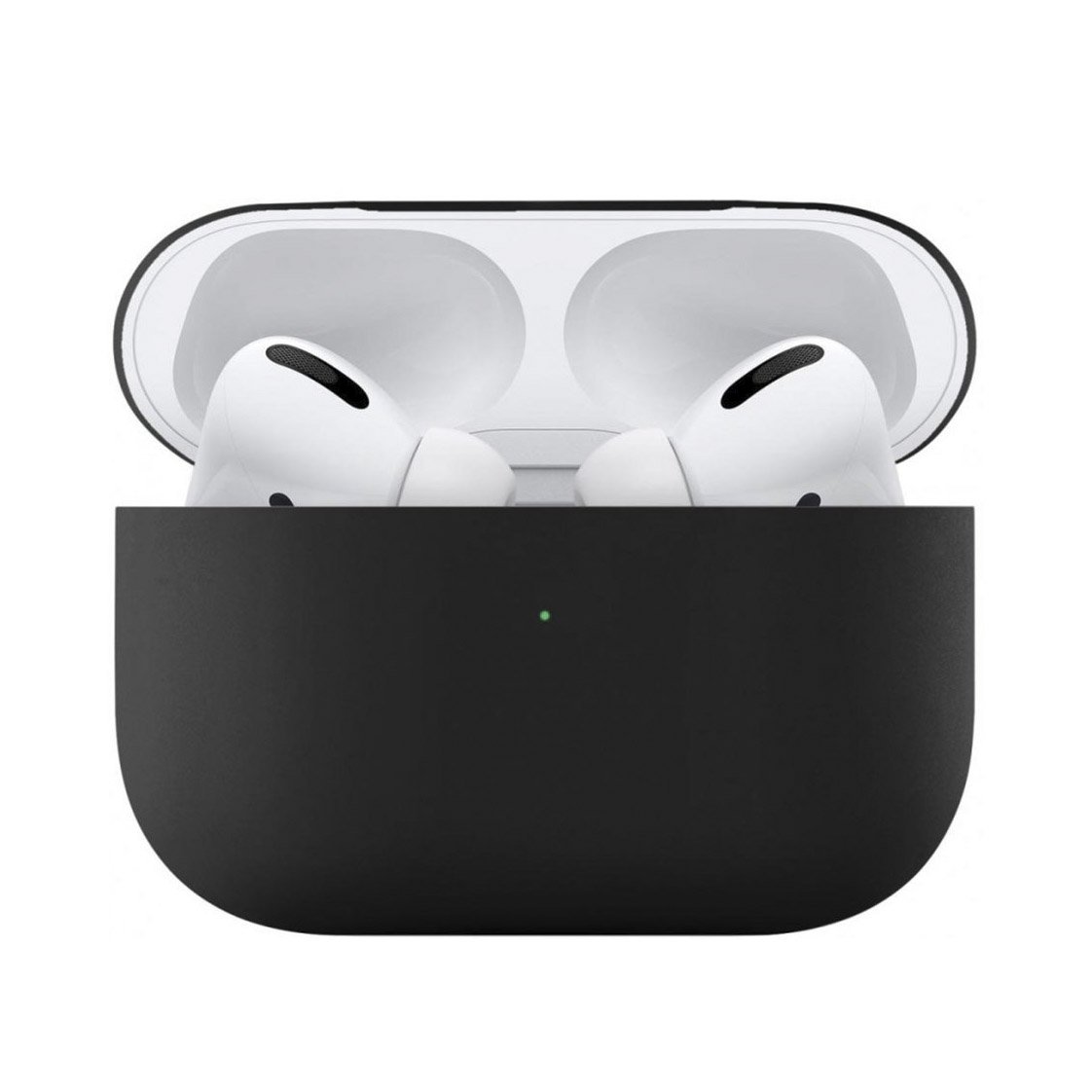 Чехол uBear для наушников Apple AirPods Pro, черный чехол для наушников steward для apple airpods blue