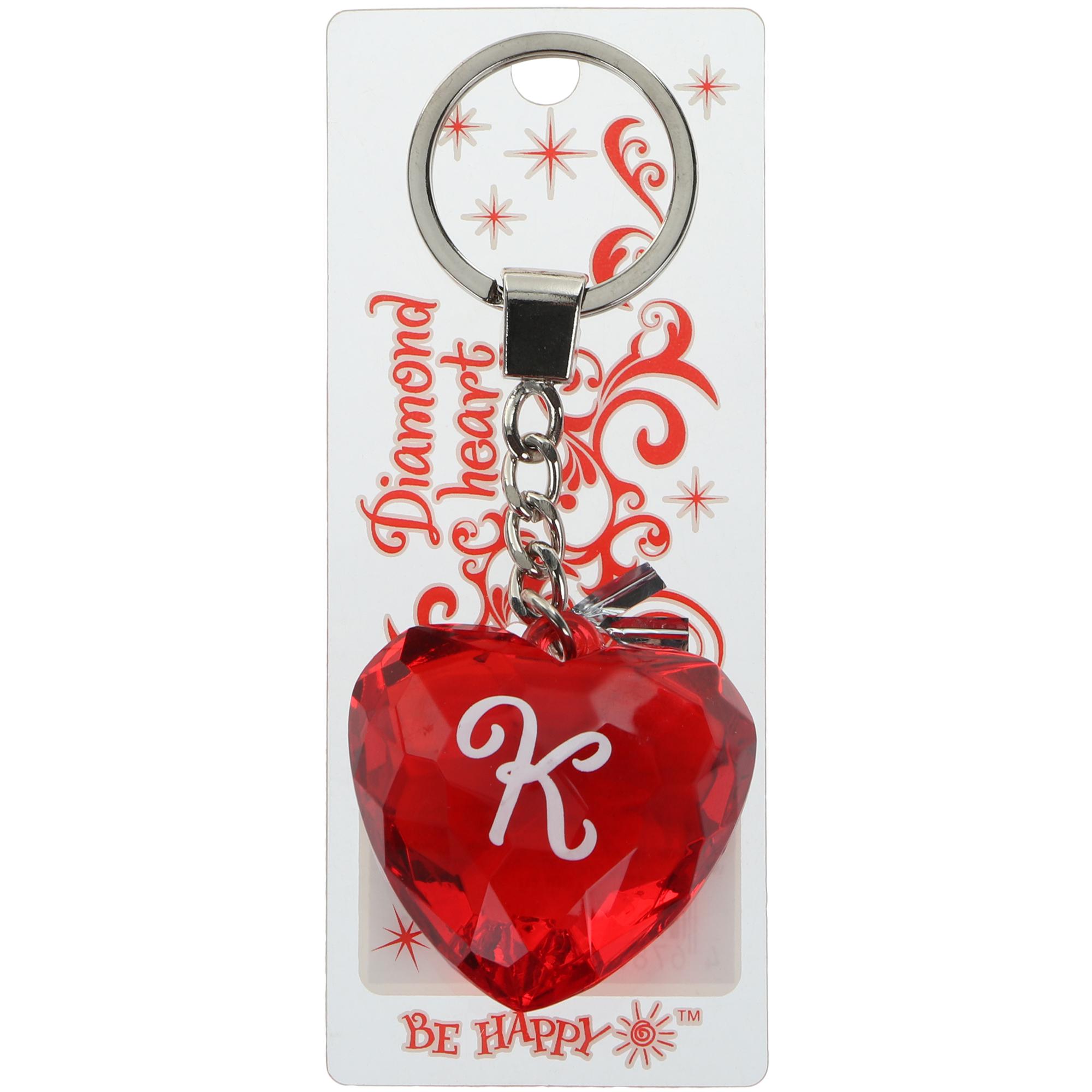 Брелок Би-Хэппи сердце красный
