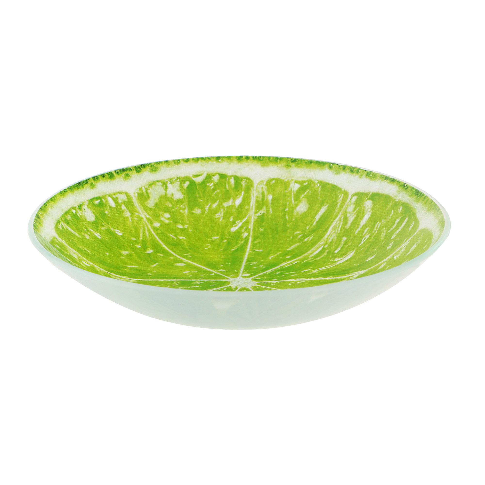 Тарелка глубокая Vellarti Лайм 20 см фото