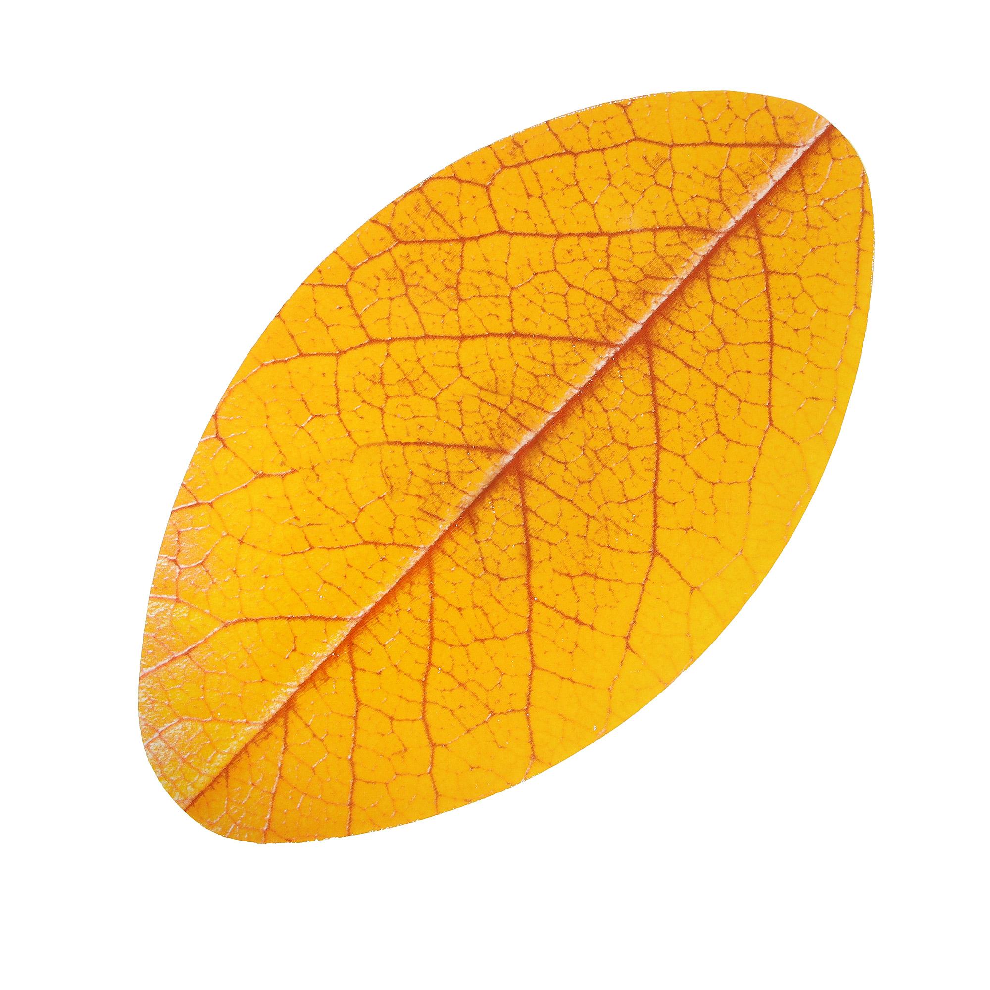 Блюдо Vellarti Лист желтый 32,5х18 см фото