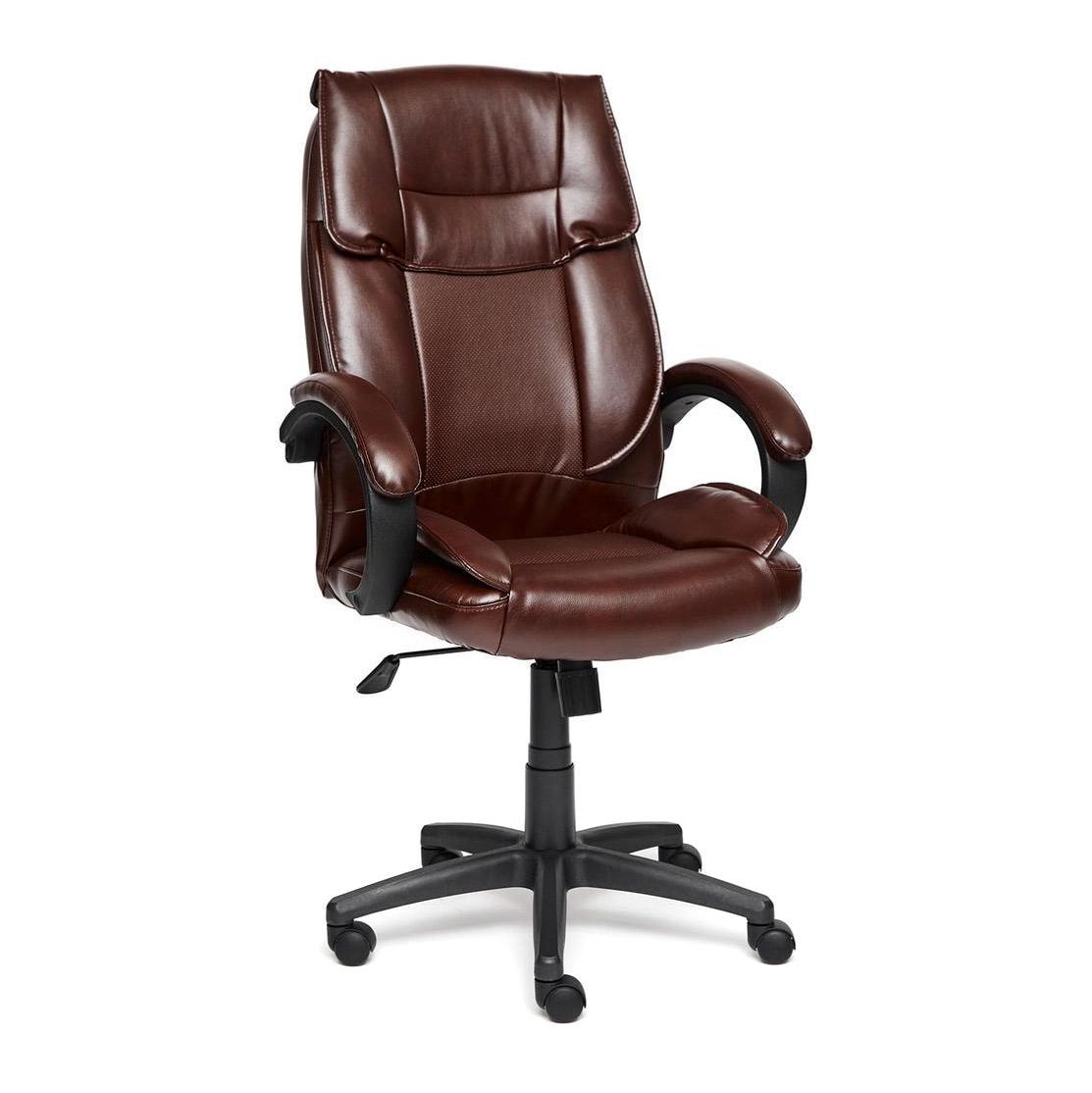 Кресло компьютерное TC коричневый 129х66х53 см мебель для домашнего кабинета
