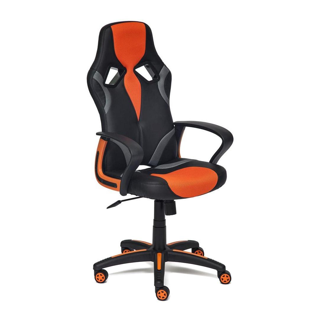 Кресло компьютерное TC оранжевый 132х61х47 см