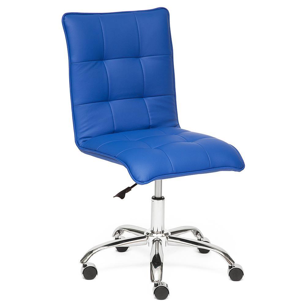 Кресло компьютерное TC синий 98х44х43 см