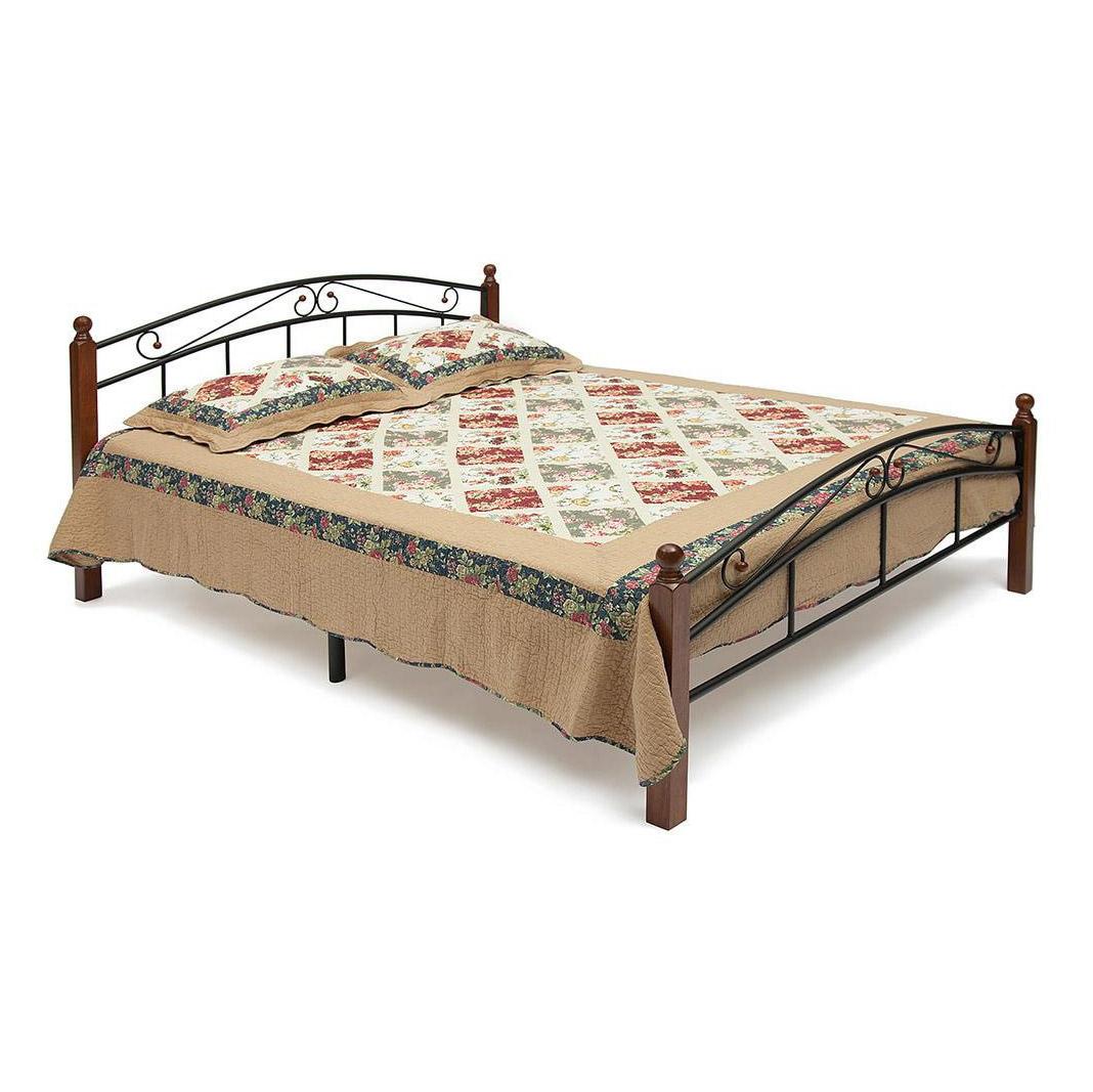 Кровать металлическая TC 91х187х210 см