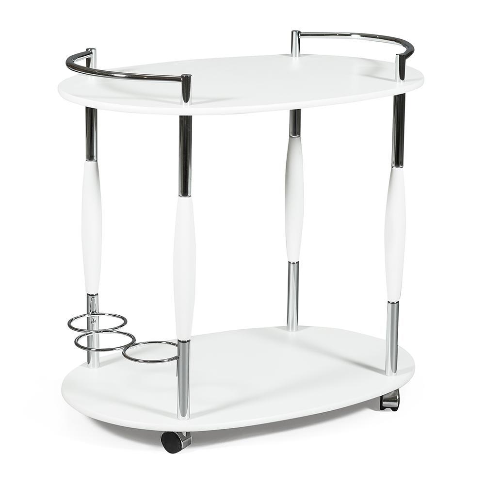 Купить Сервировочный столик TC 70х40х70 см SC-5037-W, столик сервировочный