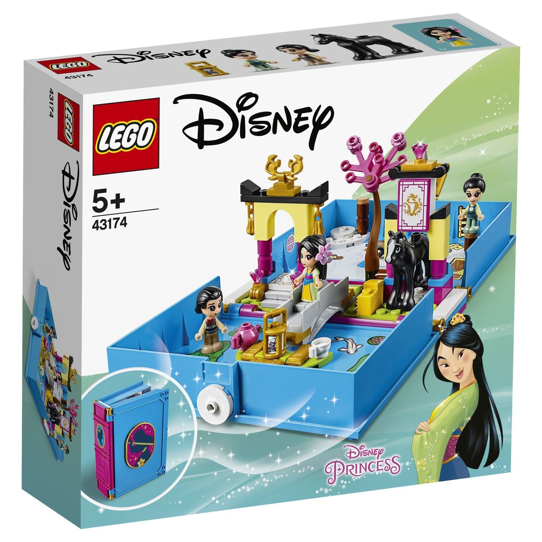 Конструктор Lego Disney Книга сказочных приключений Мулан конструктор lego disney princess 43176 книга сказочных приключений ариэль